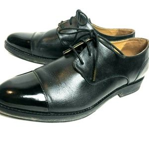 Patent leather cap toe Oxford J. Shoe Anthro